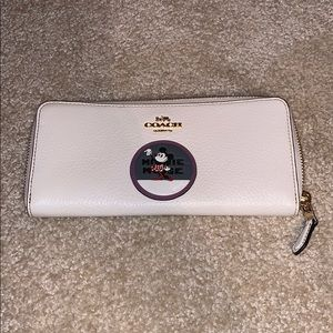 Disney X Coach wallet